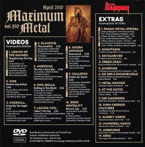Metal Hammer - Maximum Metal Vol. 150 (DVD) - Bild 2