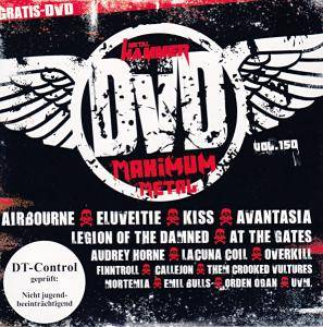 Metal Hammer - Maximum Metal Vol. 150 (DVD) - Bild 1