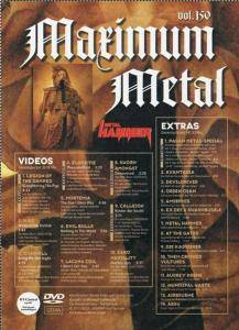 Metal Hammer - Maximum Metal Vol. 150 (DVD) - Bild 5