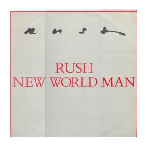 Rush: New World Man - Cover