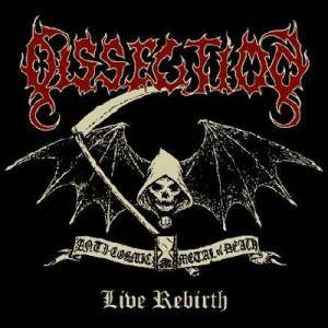 Dissection: Live Rebirth - Cover