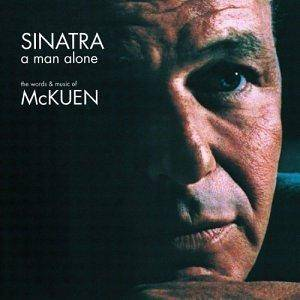 Frank Sinatra: A Man Alone: The Words And Music Of McKuen - Cover