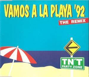 Cover - TN'T Party Zone: Vamos A La Playa '92 (Remix)