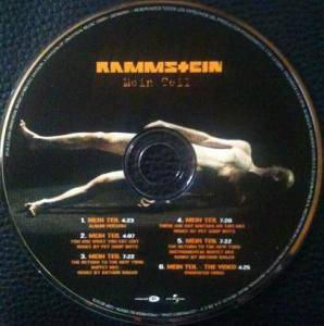Rammstein: Hands On Mein Teil (Promo-Single-CD) - Bild 3