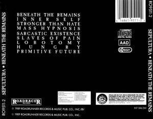 Sepultura: Beneath The Remains (CD) - Bild 2