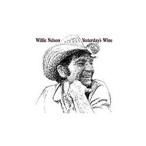Cover - Willie Nelson: Yesterday's Wine