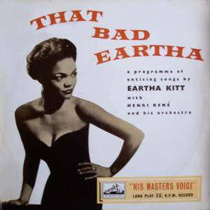 Eartha Kitt: That Bad Eartha - Cover