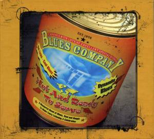Cover - Blues Company: Hot And Ready To Serve