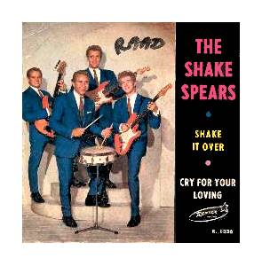 The Shake Spears: Shake It Over - Cover