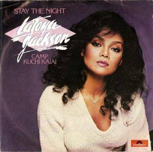 Cover - La Toya Jackson: Stay The Night
