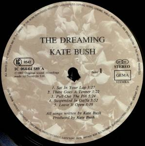 Kate Bush: The Dreaming (LP) - Bild 3