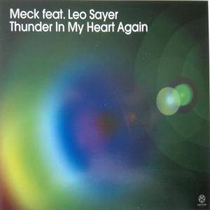 Meck Feat. Leo Sayer: Thunder In My Heart Again - Cover