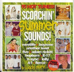 Cover - Various Artists/Sampler: TV Hits - Scorchin' Summer Sounds !