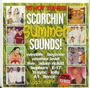 TV Hits - Scorchin' Summer Sounds ! - Cover