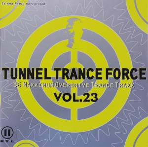 Cover - Nightsliders: Tunnel Trance Force Vol. 23