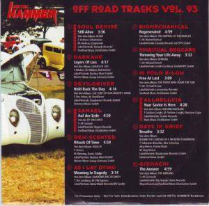 Metal Hammer - Off Road Tracks Vol. 93 (CD) - Bild 2