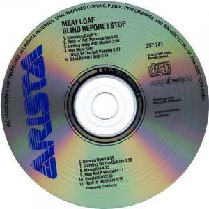 Meat Loaf: Blind Before I Stop (CD) - Bild 3