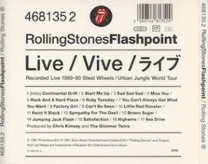 The Rolling Stones: Flashpoint (CD) - Bild 3