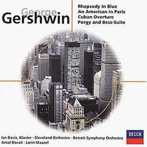 Cover - George Gershwin: Rhapsody In Blue - Porgy And Bess