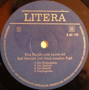 Eine Stunde Gute Laune Lp 1972 Live Von Rolf Herricht