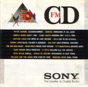 Cover - China Crisis: 3EON FM 92: Compilation FMCD 3