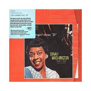 "Cover - Dinah Washington: Swingin' Miss ""D"", The"