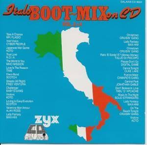 Italo Boot-Mix On CD Vol. 3 + 4 - Cover