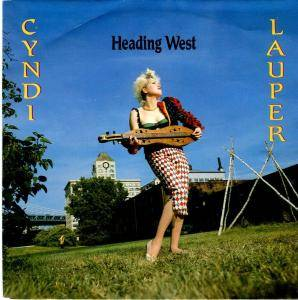 Cyndi Lauper: Heading West - Cover
