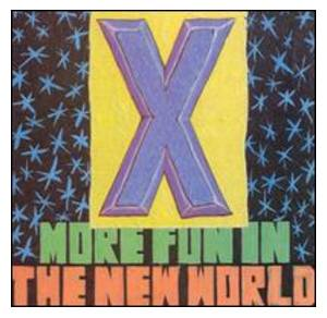 X: More Fun In The New World - Cover