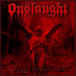 Onslaught: Live Damnation - Cover