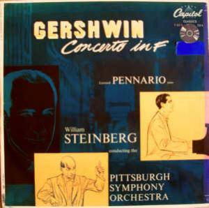 Cover - George Gershwin: Concerto In F