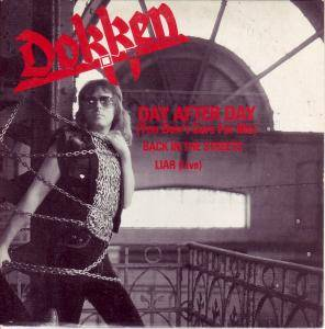 Cover - Dokken: Day After Day (You Don't Care For Me)