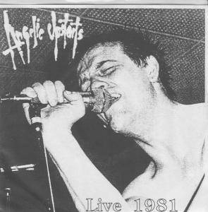 Cover - Angelic Upstarts: Live 1981