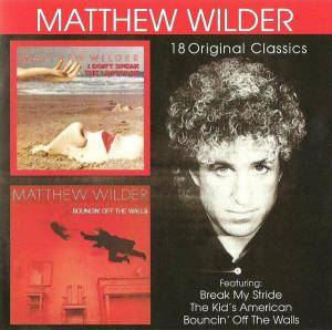 Cover - Matthew Wilder: I Don't Speak The Language / Bouncin' Off The Walls