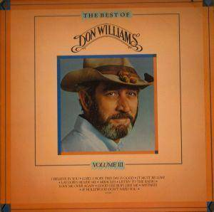 Cover - Don Williams: Best Of Don Williams Volume III, The