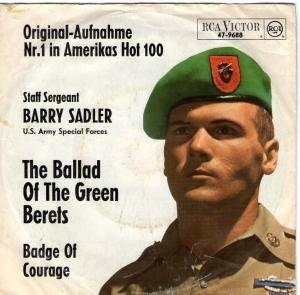 Barry Sadler: Ballad Of The Green Berets, The - Cover
