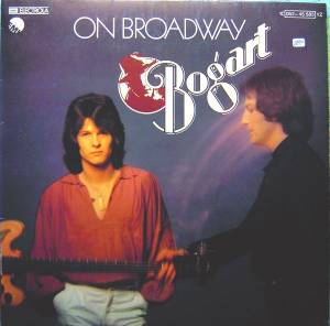 Cover - Bogart: On Broadway