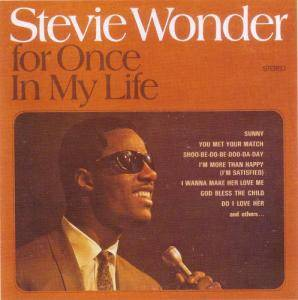 Cover - Stevie Wonder: For Once In My Life