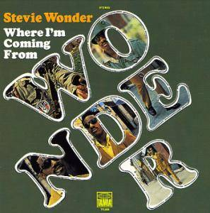 Cover - Stevie Wonder: Where I'm Coming From