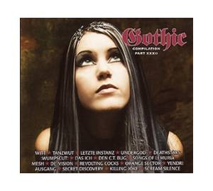 Cover - Sinamore: Gothic Compilation Part XXXII