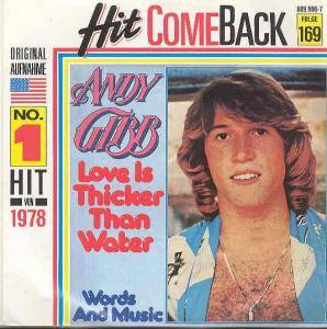 Cover - Andy Gibb: Love Is Thicker Than Water