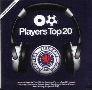 Players Top 20™ [Season 2004/5: Rangers Football Club] - Cover