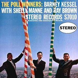 Barney Kessel, Shelly Manne, Ray Brown: Poll Winners, The - Cover