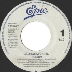 "George Michael: Freedom (7"") - Bild 3"