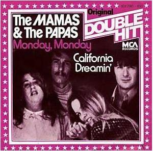 The Mamas & The Papas: Monday, Monday / California Dreamin' - Cover