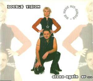 Cover - Double Vision: Alone Again Or...