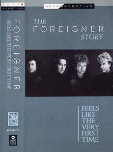 Foreigner: Feels Like The Very First Time - The Foreigner Story - Cover