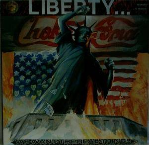 Cover - Exit Condition: Liberty... We Want The Real Thing