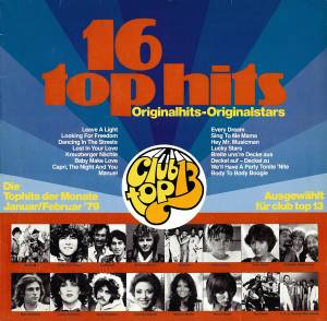 Cover - Dean Friedman: Club Top 13 - 16 Top Hits - Januar/Februar '79