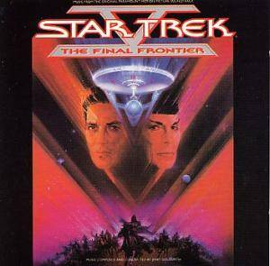 Jerry Goldsmith: Star Trek V: The Final Frontier - Cover